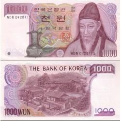اسکناس 1000 وون - کره جنوبی 1983