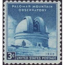 1 عدد تمبر رصدخانه کوهستان پالومار - کالیفرنیا - آمریکا 1948