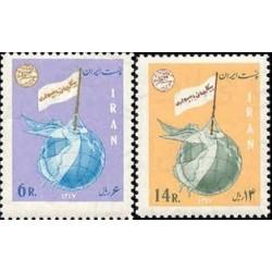 1418 - بلوک تمبر پیکار با بیسوادی (3) 1347