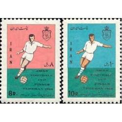 1411 - بلوک تمبر مسابقات جام آسیائی 1347
