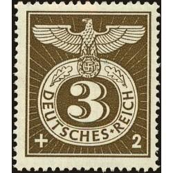 1 عدد تمبر ابطال - فسخ  - رایش آلمان 1943