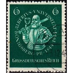 1 عدد تمبر دانشگاه کونیگزبرگ - رایش آلمان 1944 مهر خورده