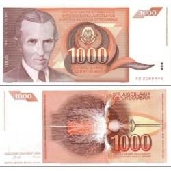 اسکناس 1000 دینار - یوگوسلاوی 1990