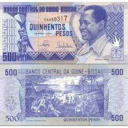 اسکناس 500 پزو - گینه بیسائو 1990