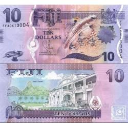 اسکناس 10 دلار - فیجی 2012