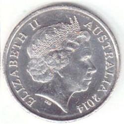 سکه 10 سنت - نیکل مس - استرالیا 2006 غیر بانکی