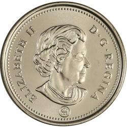 سکه 5 سنت - نیکل - کانادا 2009 غیر بانکی