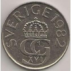 سکه 5 کرون - نیکل مس - سوئد 1982 غیر بانکی