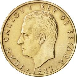 سکه 100پزتا - مس آلومینیم نیکل - اسپانیا 1982غیر بانکی