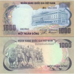 اسکناس 1000 دونگ  - ویتنام جنوبی 1972