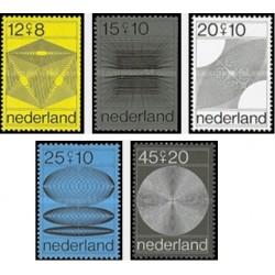 5 عدد تمبر خیریه - هلند 1970 قیمت 5.8  دلار