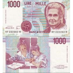 اسکناس 1000 لیر - ایتالیا 1990