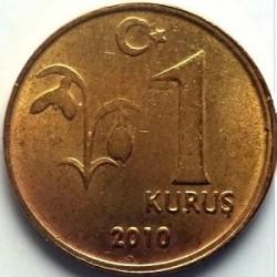 سکه 1 کروز - برنجی - ترکیه 2010 غیر بانکی