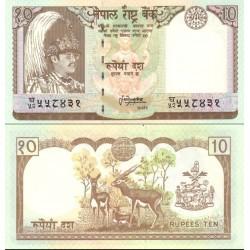 اسکناس 10 روپیه - نپال 2000