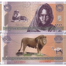 اسکناس 20 شلینگ - سومالی لند 2006