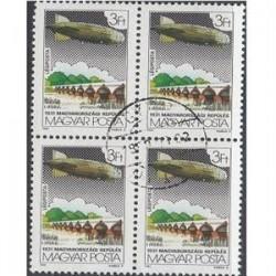 بلوک تمبر با مهر صادراتی- 85 -  مجارستان