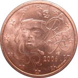سکه 1 سنت یورو - مس روکش فولاد -فرانسه 2011 غیر بانکی
