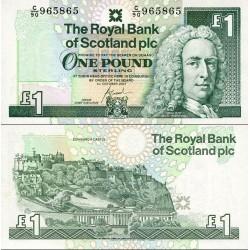 اسکناس 1 پوند استرلینگ - اسکاتلند 2001