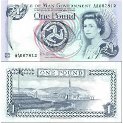 اسکناس 1 پوند - جزیره من 2009