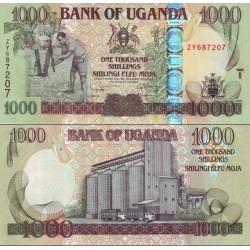 اسکناس 1000 شلینگ - اوگاندا 2008
