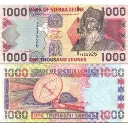اسکناس 1000 لئون - سیرالئون 2006