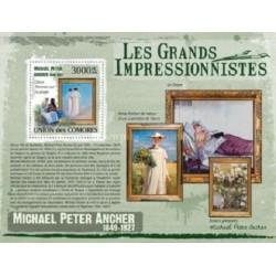 سونیرشیت تابلوهای نقاشی امپرسیونیسم اثر میخائیل پیتر آنچر - کومور 2009 قیمت 13.97 دلار