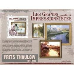 سونیرشیت تابلوهای نقاشی امپرسیونیسم اثر  فریتز تائولو  - کومور 2009 قیمت 13.97 دلار