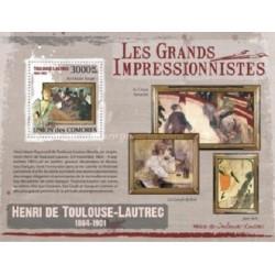 سونیرشیت تابلوهای نقاشی امپرسیونیسم اثر  هنری تولوز لوترک - کومور 2009 قیمت 13.97 دلار