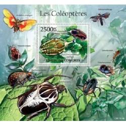 مینی شیت حشرات - سوسکها - 2 - کومور 2011 قیمت 14 دلار