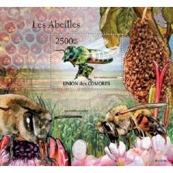 مینی شیت حشرات - زنبور عسل آفریقائی - 2 - کومور 2011 قیمت 14 دلار
