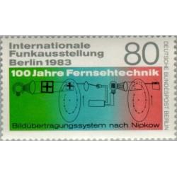 1 عدد تمبر نمایشگاه بین المللی رادیو - برلین آلمان 1983
