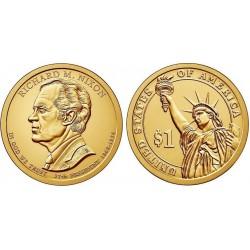 سکه 1 دلار یادبود ریچارد نیکسون - 37مین رئیس جمهوری - آمریکا 2016