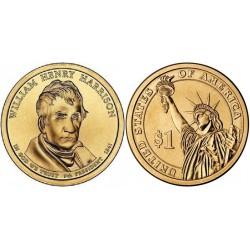 سکه 1 دلار یادبودویلیام هنری هریسون - 9مین رئیس جمهوری - آمریکا 2009