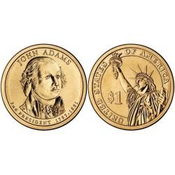 سکه 1 دلار یادبود جان آدامز -دومین رئیس جمهوری - آمریکا 2007