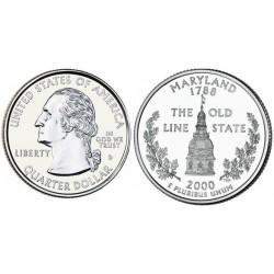سکه کوارتر - ایالت مریلند - آمریکا 2000