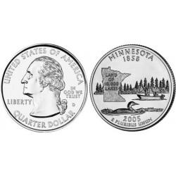 سکه کوارتر - ایالت مینه سوتا - آمریکا 2005