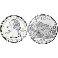 سکه کوارتر - ایالت کلرادو - آمریکا 2006