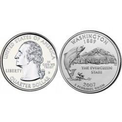 سکه کوارتر - ایالت واشنگتون - آمریکا 2007