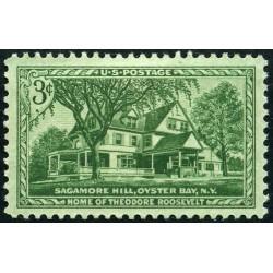 1 عدد تمبر Sagamore Hill  - آمریکا 1953