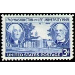 1 عدد تمبر دانشگاه واشینگتون و لی - آمریکا 1949