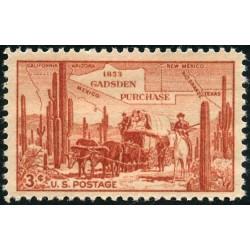 1 عدد تمبر صدمین سال خرید گادسدن - آمریکا 1953