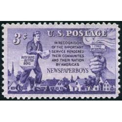 1عدد تمبر روزنامه پسران - آمریکا 1952