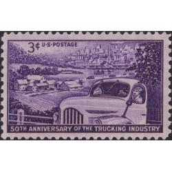 1عدد تمبر 50مین سالگرد صنعت حمل ونقل - آمریکا 1953