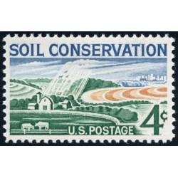 1 عدد تمبر حفاظت خاک - آمریکا 1959