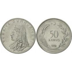 سکه 50 کروز - Acmonital - ترکیه 1973 غیر بانکی