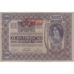 اسکناس 10000 کرون - اتریش 1919 کیفیت خوب