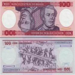 اسکناس 100 کروزرو - برزیل 1984