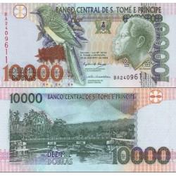 اسکناس 10000 دوبراس - سائو تام و پرینسپ 2004