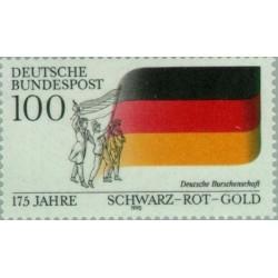 1 عدد تمبر 175مین سالگرد انجمن دانش آموزی - جمهوری فدرال آلمان 1990