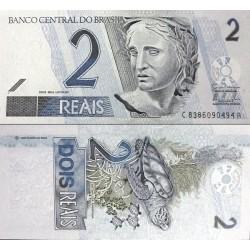 اسکناس 2 ریاس - برزیل 2009 سری C
